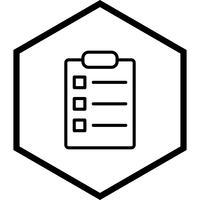 Lijst Icon Design