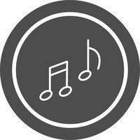 Muziek pictogram ontwerp vector