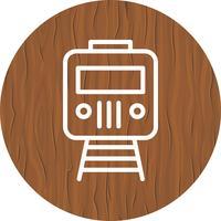 Trein pictogram ontwerp