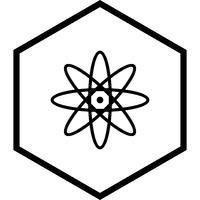 atoompictogram ontwerp