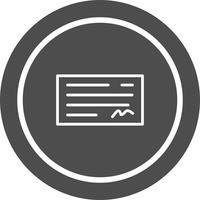 Controleer pictogramontwerp vector