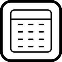 Calculator pictogram ontwerp vector
