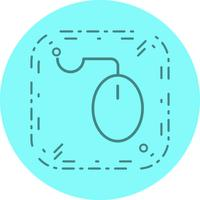 Muis pictogram ontwerp