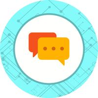 Chat pictogram ontwerp vector