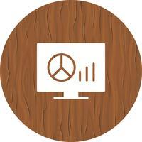 Grafieken Icon Design vector