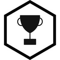 Beker pictogram ontwerp vector