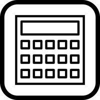 Berekening Icon Design vector