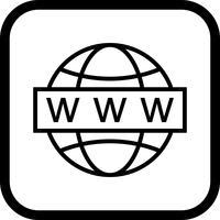 web zoeken pictogram ontwerp vector