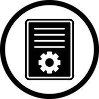 Artikel marketing pictogram ontwerp