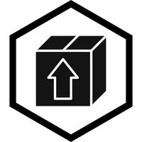 Pakket pictogram ontwerp vector