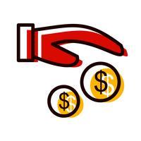 Betaling pictogram ontwerp vector