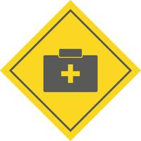 EHBO-doos pictogram ontwerp