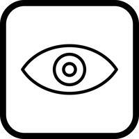 Bekijk pictogramontwerp vector
