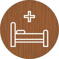 Bed pictogram ontwerp vector