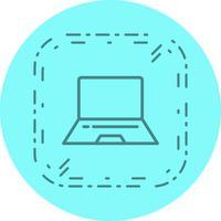 Laptop pictogram ontwerp vector