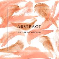 Koraal kleur Trendy zee shell aquarel en goud gouache textuur achtergrond vector ontwerp behang ontwerp voor banner, poster, tijdschrift