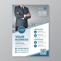 Zakelijke dekking a4 sjabloon en platte pictogram voor een rapport en brochureontwerp, flyer, banner, folders decoratie voor afdrukken en presentatie vectorillustratie