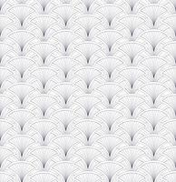 Naadloze bloemmotief. Abstract geometrisch ornament van de waaiervorm