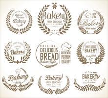 bakkerij etiketten
