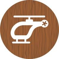 Helikopter pictogram ontwerp vector