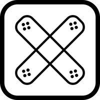 Band hulp pictogram ontwerp
