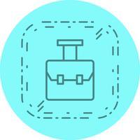 Zak pictogram ontwerp
