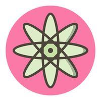 atoompictogram ontwerp vector
