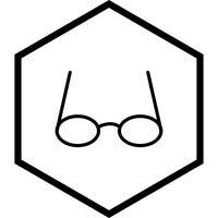 Glazen pictogram ontwerp