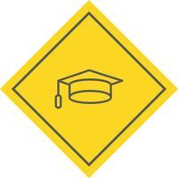 Graduation Cap pictogram ontwerp