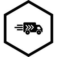Bestelwagen pictogram ontwerp