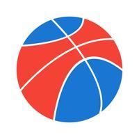 Basketbal pictogram ontwerp