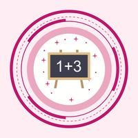 Wiskunde Icon Design