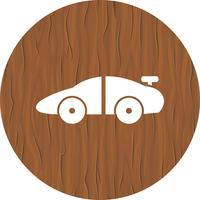 Sportwagen pictogram ontwerp