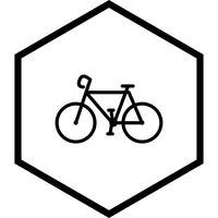 Fiets pictogram ontwerp