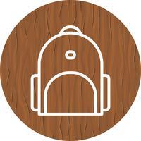 bagpack pictogram ontwerp