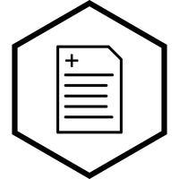 Rapportontwerp van het pictogram