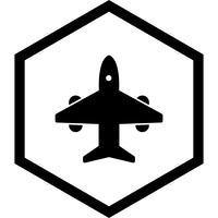 Vliegtuig pictogram ontwerp vector
