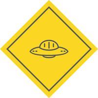 UFO pictogram ontwerp