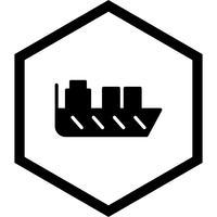 schip pictogram ontwerp