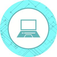 Laptop pictogram ontwerp