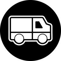 Van Icon Design vector