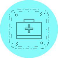 EHBO-doos pictogram ontwerp vector