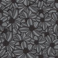 bloem naadloze patroon, bloem achtergrondstructuur, naadloze bloemmotief vector