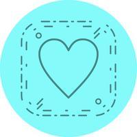 Favoriete pictogramontwerp vector