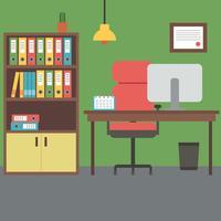 Kleurrijk kantoor vector