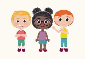 Vector kinderen tekenset