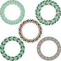 Kerstkrans frames