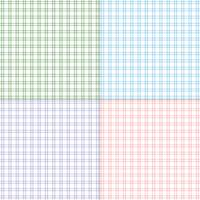 eenvoudige pastel twill plaids