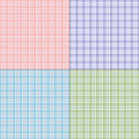 twill pastel vector plaids