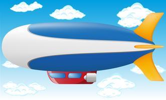 zeppelin vectorillustratie
